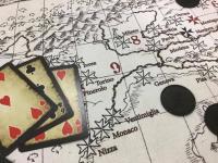 Ultima Forsan - Mappa dell'Italia su cotone pesante