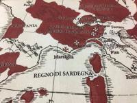 Symbaroum - Mappa del Davokar su cotone pesante
